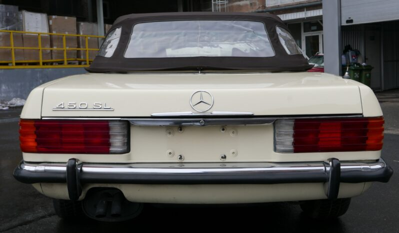 1973  Kabriolet Mercedes-Benz SL450 full