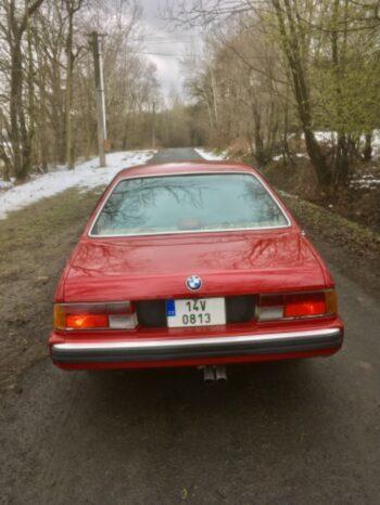 1987  Kupé BMW 635csi full